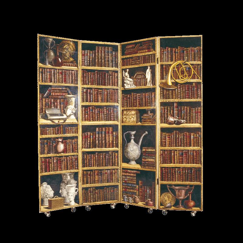 Libreria scaletta creativo scaletta rack pavimento in - Fornasetti mobili ...